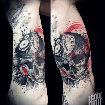 skull-vinyl–trash-polka